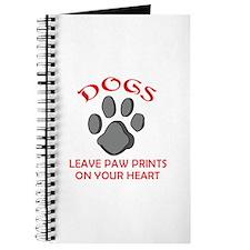 DOG PAW PRINT Journal
