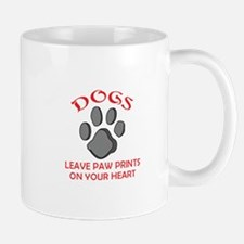 DOG PAW PRINT Mugs