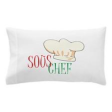 SOUS CHEF HAT Pillow Case