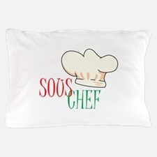 SOUS CHEF HAT Pillow Case