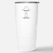Normal vs Paranormal Distribution Travel Mug