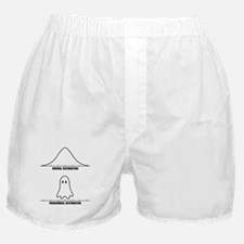 Normal vs Paranormal Distribution Boxer Shorts