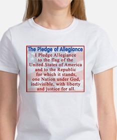 Pledge of Allegiance - Women's T-Shirt