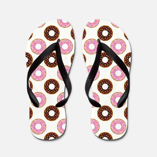 DONUTS, GO NUTS! Flip Flops