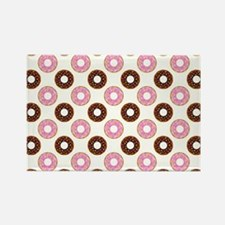 DONUTS, GO NUTS! Rectangle Magnet