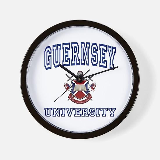 GUERNSEY University Wall Clock