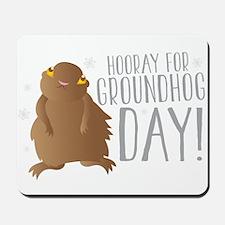 Hooray for GROUNDHOG day! Mousepad