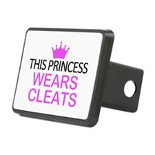 This Princess Wears Cleats Hitch Cover
