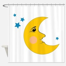 Moon & Stars Shower Curtain