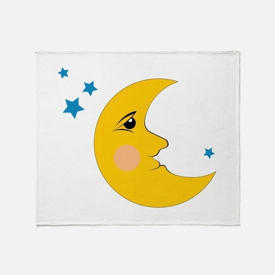 Moon & Stars Throw Blanket