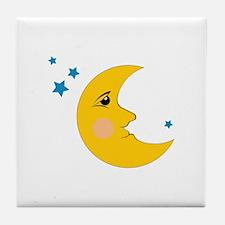 Moon & Stars Tile Coaster
