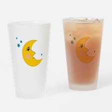 Moon & Stars Drinking Glass