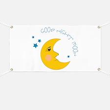 Good Night Moon Banner