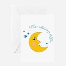 Good Night Moon Greeting Cards