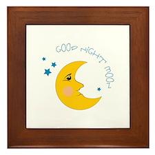 Good Night Moon Framed Tile