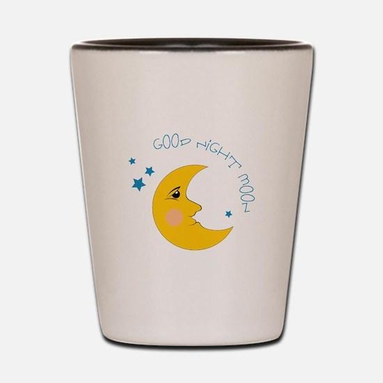Good Night Moon Shot Glass