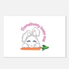 SOMEBUNNY LOVES ME Postcards (Package of 8)