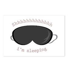 Im Sleeping Postcards (Package of 8)