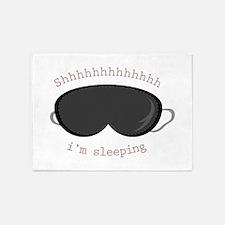 Im Sleeping 5'x7'Area Rug