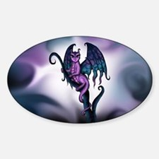 Unique Purple dragon Decal