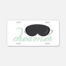Dreamers Mask Aluminum License Plate
