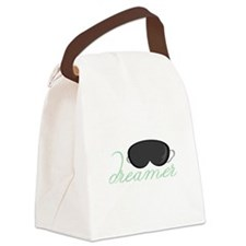 Dreamers Mask Canvas Lunch Bag