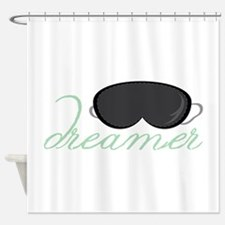 Dreamers Mask Shower Curtain