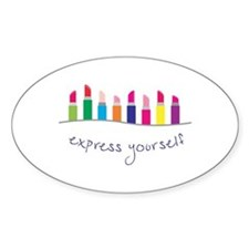 Express Yourself Border Decal