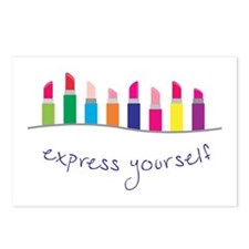 Express Yourself Border Postcards (Package of 8)