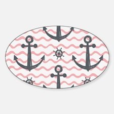Anchors Sticker (Oval)
