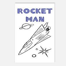 ROCKET MAN Postcards (Package of 8)