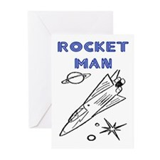 ROCKET MAN Greeting Cards (Pk of 10)