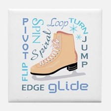 ICESKATE TERMS Tile Coaster