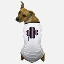 striped shamrock 6 Dog T-Shirt