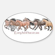 every herd has an ass Decal
