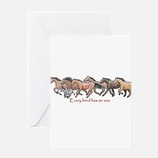 every herd has an ass Greeting Cards