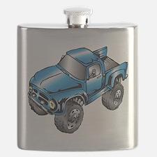Cute Vehicles Flask