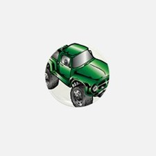 Cute Monster trucks Mini Button