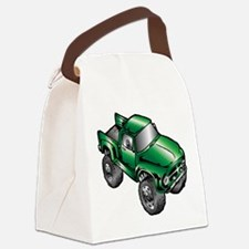 Funny Vehicles Canvas Lunch Bag