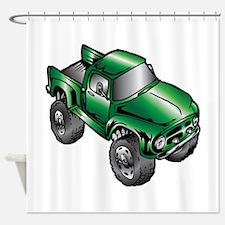 Cool Monster truck Shower Curtain