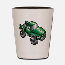 Funny Vehicles Shot Glass