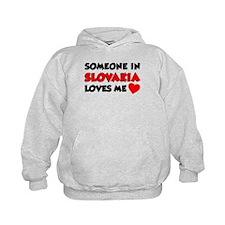 Someone In Slovakia Loves Me Hoodie