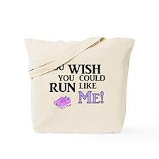 Run Like Me Tote Bag