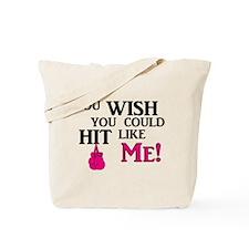 Hit Like Me Tote Bag