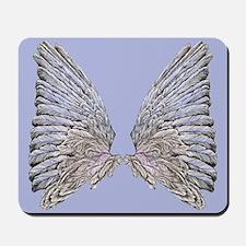 Wings blue Mousepad