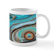 rustic turquoise swirls Mugs