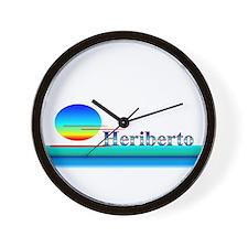 Heriberto Wall Clock