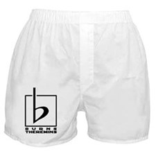 Burns Theremins Logo Boxer Shorts