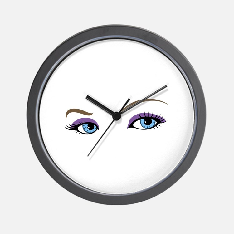 WOMANS EYES Wall Clock