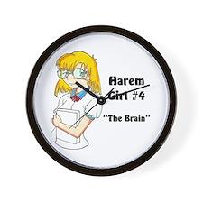 Harem Girl #4 - The Brain Wall Clock
